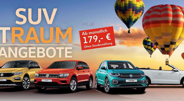 TRAUM Angebote bei der Thieme Gruppe – SUV ab monatlich 179,- €