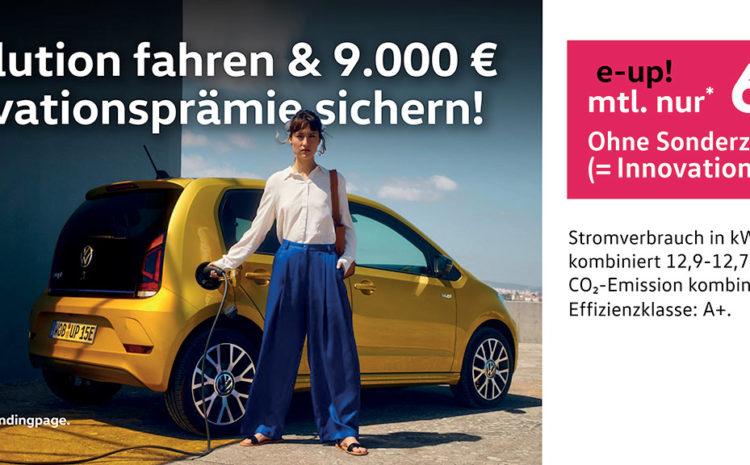 e-Volution fahren & 9.000 € Innovationsprämie sichern!